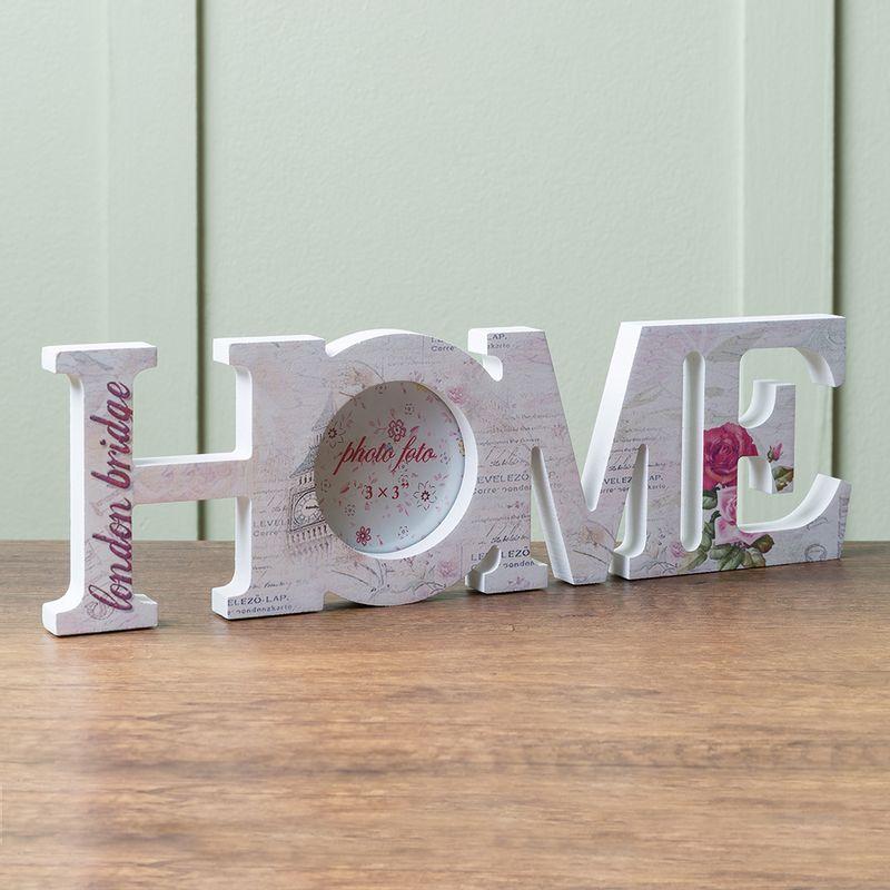 Decoracion letras home may sculas almacenesbrissa - Letras home decoracion ...