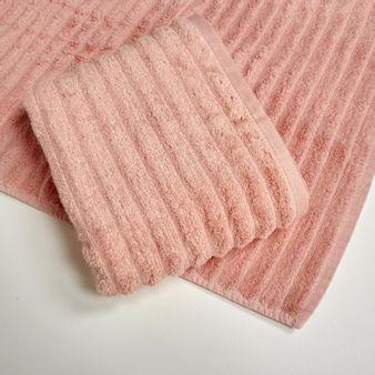 Set-x2-Toalla-de-baño-algodon-470-gsm-bisel-Rosa-Claro