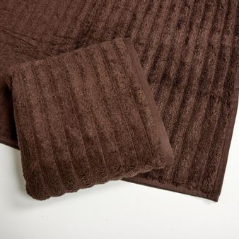 Set-x2-Toalla-de-baño-algodon-470-gsm-bisel-Chocolate
