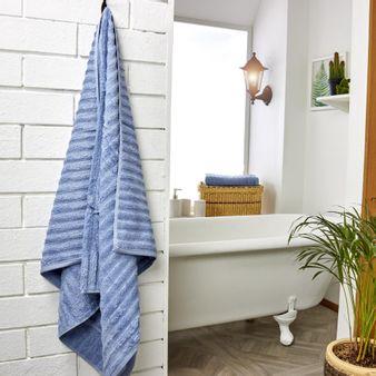 Set-x2-Toalla-de-baño-algodon-470-gsm-bisel-Azul-Claro