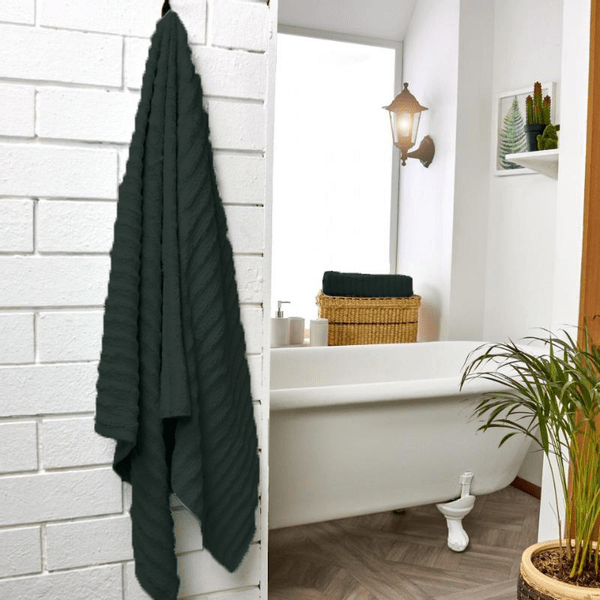 Set-x2-toallas-de-baño-bisel-negro