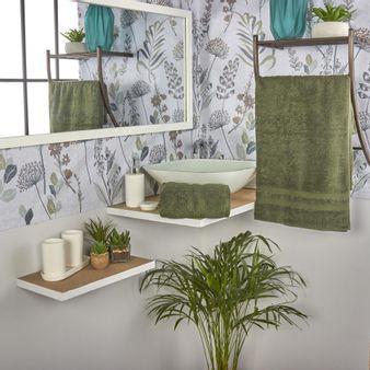 Set-x2-Toallas-de-baño-algodon-470-gsm-zero-verde-oliva
