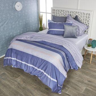 Forro-plumon-algodon-200-hilos-geo-lineas-azul