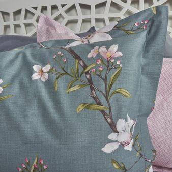 Forro-plumon-algodon-200-hilos-flor-rosa