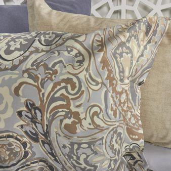 Forro-plumon-algodon-200-hilos-arabesco-gris