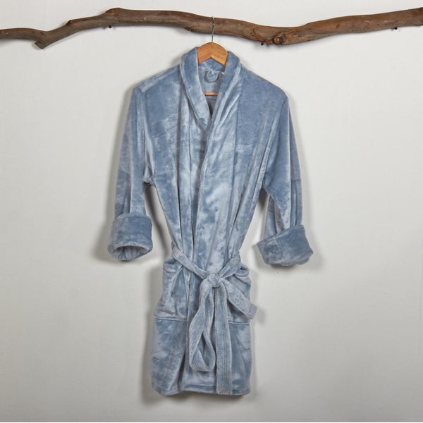 Bata-levantadora-en-tela-flannel-unicolor-azul-denim