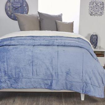Cobija-ovejera-acolchada-Azul-denim