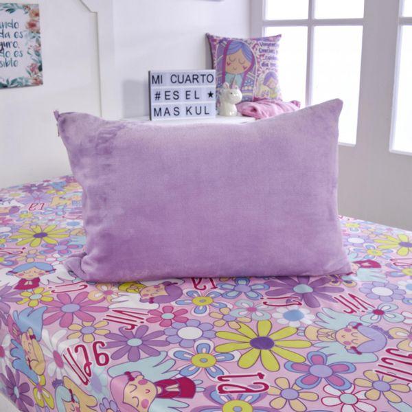 Almohada---funda-microfibra-unicolor-violeta