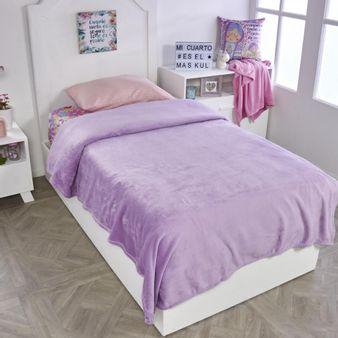 Cobija-flannel-unicolor-violeta