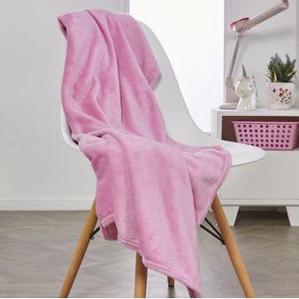 Manta-flannel-unicolor-rosada
