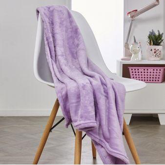 Manta-flannel-unicolor-violeta