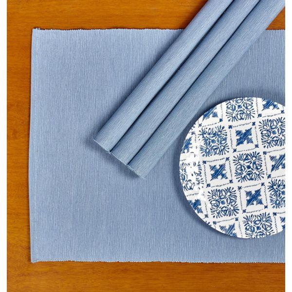 Juego--4-Individuales-algodon-ribbed-azul-claro