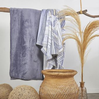 Set-x2-Manta-flannel-estampada-ian-unicolor-azul-piedra