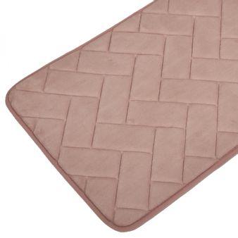 Tapete-de-baño-espuma-zigzag-rosa-plata
