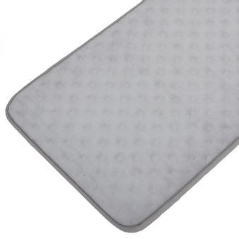 Tapete-de-baño-espuma-puntos-gris-claro