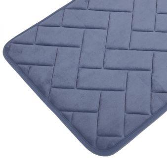 Tapete-de-baño-espuma-zigzag-azul-diamante