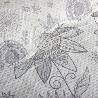 Cubrelecho-estampado-girasol