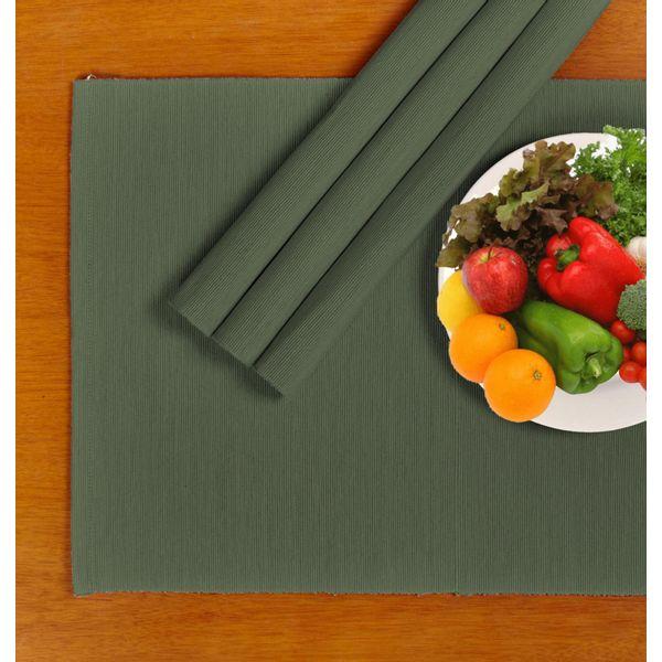 Juego--4-individuales-algodon-ribbed-verde-oliva
