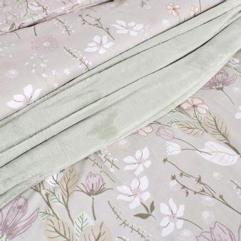 Forro-para-plumon-estampado-flores-gris