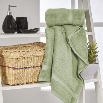 Set-x2-Toallas-de-baño-algodon-550-gsm-verde