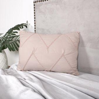 Cojin-drapeado-rosa-plata-30-x-45-cm